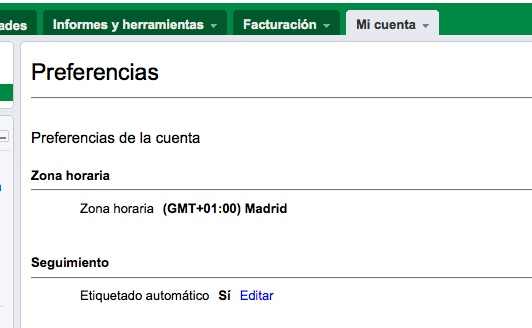 Adwords y Analitics: activando autotagging