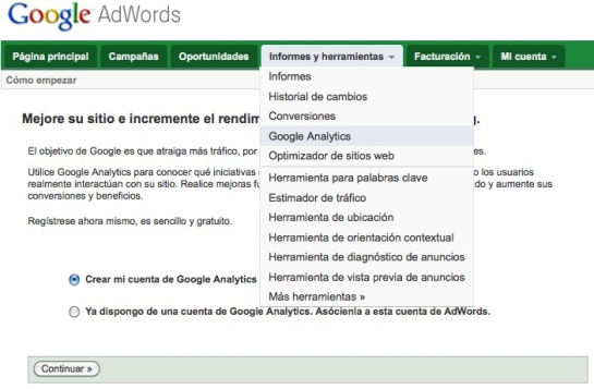 Adwords y Analytics