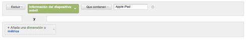 Herramienta de filtrado de Google Analytics