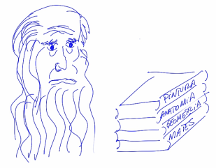 Leonardo Da Vinci (más o menos)